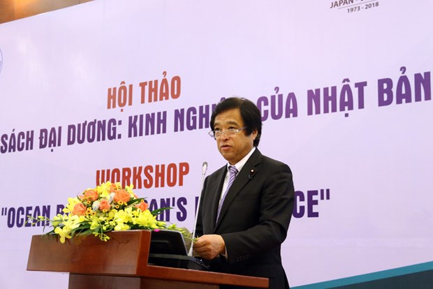 Workshop sees Japan share experiences in ocean policy hinh anh 1
