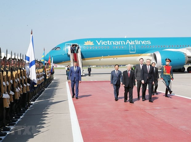 Party leader begins Russia visit hinh anh 2