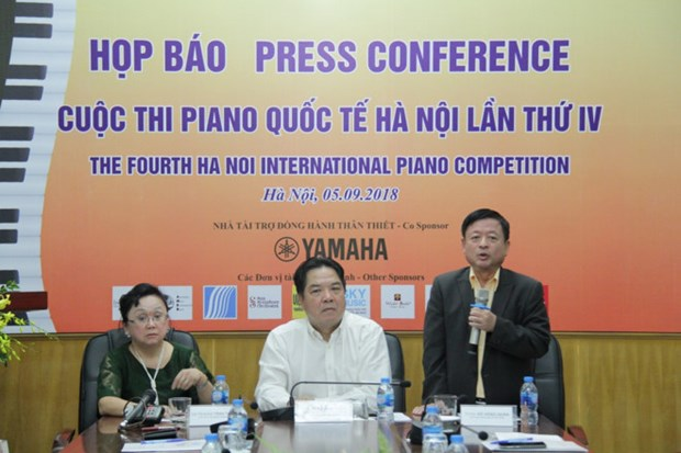 Young pianists to gather in Hanoi for international contest hinh anh 1