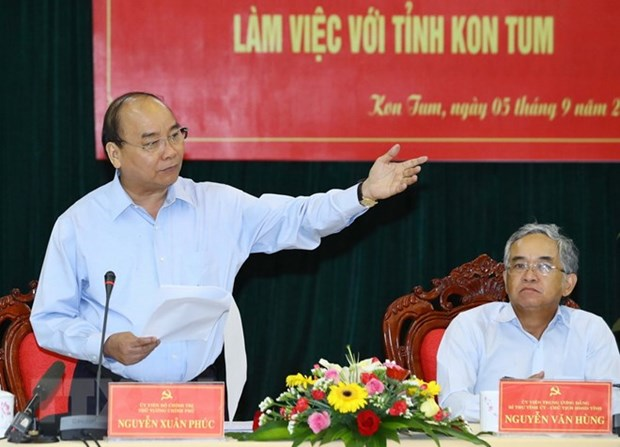 PM urges Kon Tum to promote sustainable forest development hinh anh 1