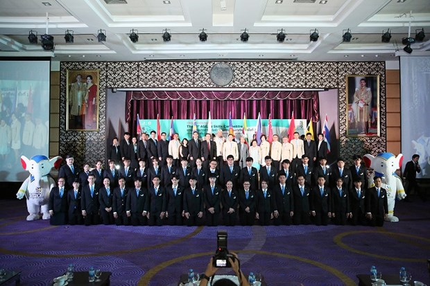 Thailand claims victory at 12th ASEAN Skills Competition hinh anh 1