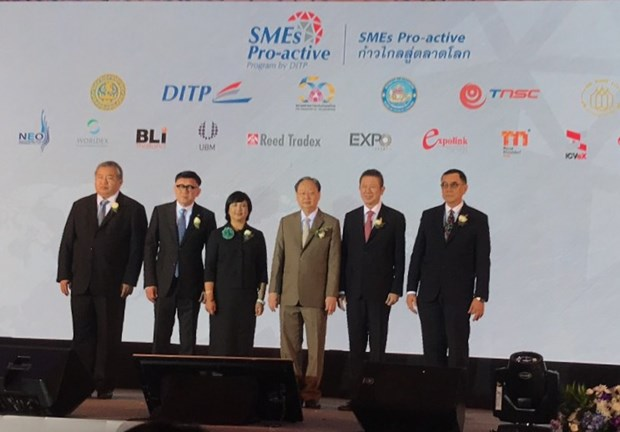 Thailand launches programme to help SMEs join foreign fairs hinh anh 1