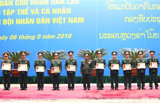 Lao State's Orders granted to VPA collectives, individuals hinh anh 1