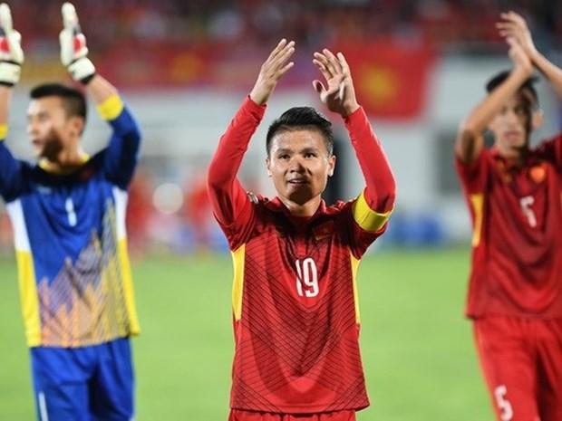 Midfielder Nguyen Quang Hai among top six Asian Games stars hinh anh 1