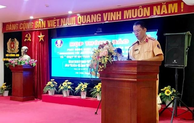 Slogan contest for traffic safety launched hinh anh 1