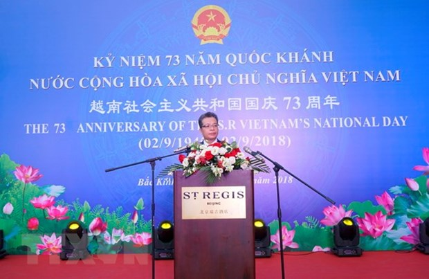 Vietnam's National Day marked in China, Cuba hinh anh 1