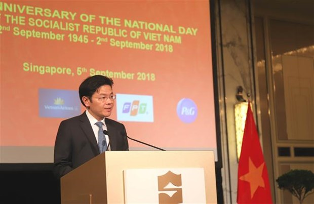 73rd National Day marked in Singapore, India, Czech hinh anh 1