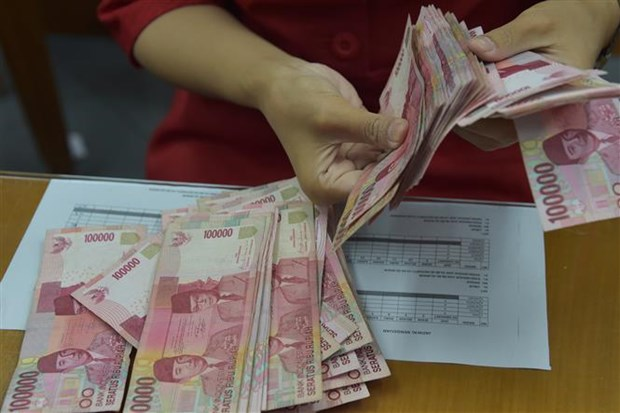 Indonesia strives to stop currency's sharp plunge against USD hinh anh 1