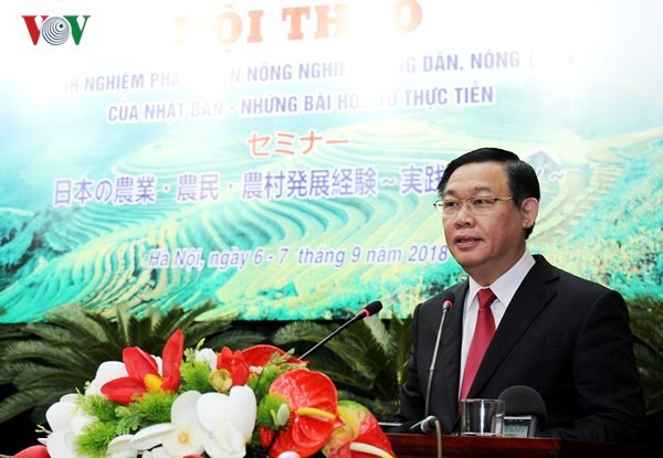 Japan shares experience in agricultural, rural development hinh anh 1