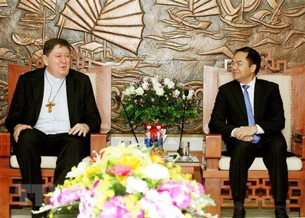 Vatican official welcomed in Hanoi hinh anh 1