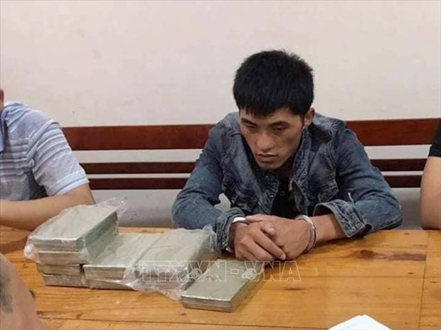 Lao national busted for illegal drug transport hinh anh 1