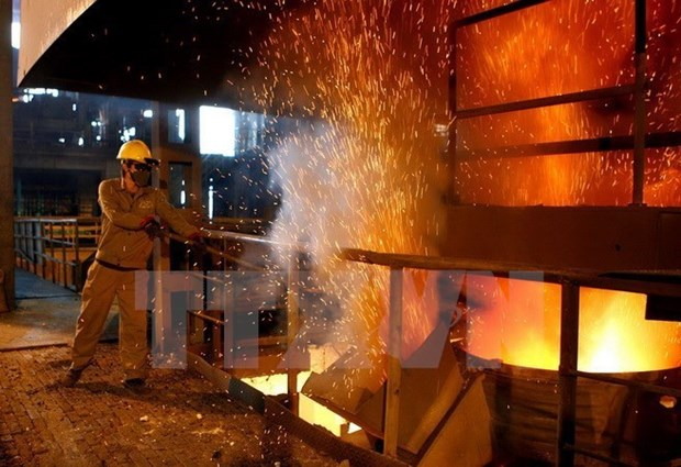 Hoa Phat churns out nearly 1.5 mln tonnes of steel in eight months hinh anh 1