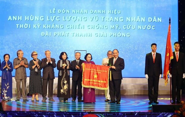 War-time Liberation Radio Station honoured with hero title hinh anh 1