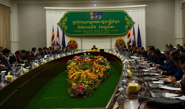 New Cambodian Government holds first meeting hinh anh 1
