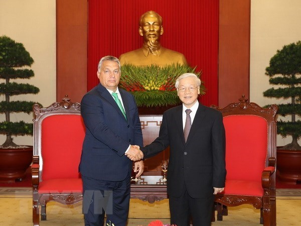Party leader to visit Hungary from September 8-11 hinh anh 1