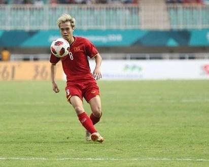 Vietnamese striker Toan's goal at ASIAD 2018 honoured hinh anh 1