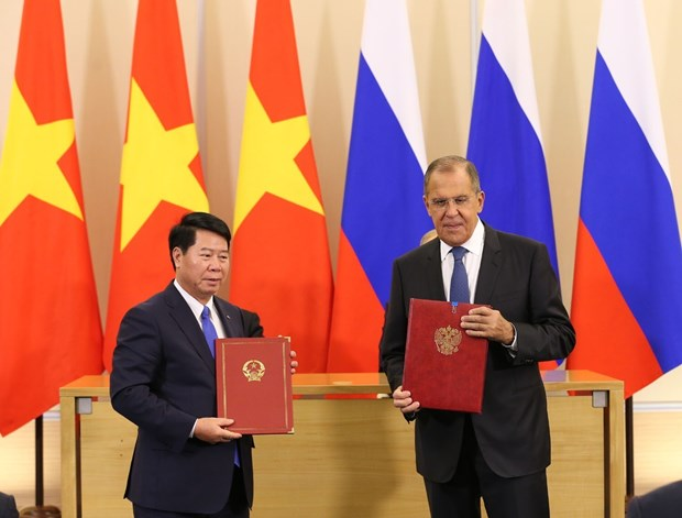 Vietnam, Russia sign various cooperation agreements hinh anh 1