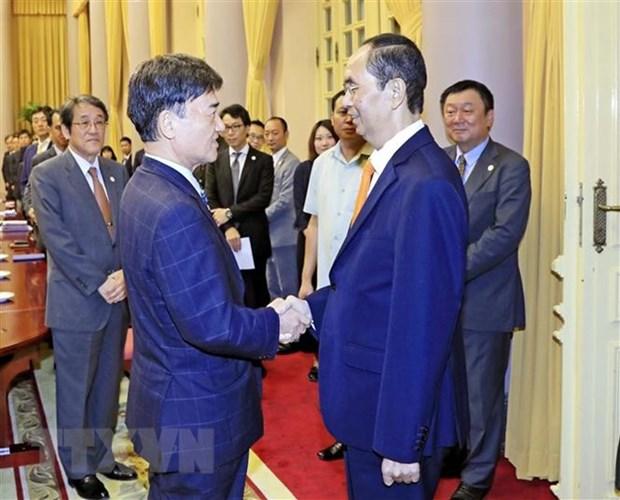 President receives special advisor of Mainichi newspaper hinh anh 1