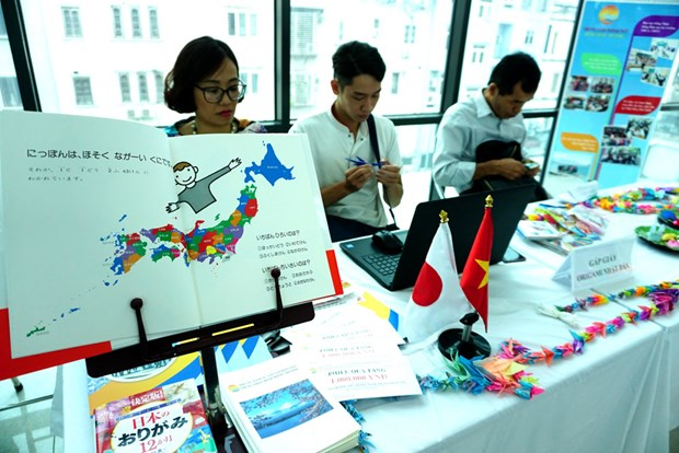Cultural exchange event marks Vietnam – Japan relation anniversary hinh anh 3