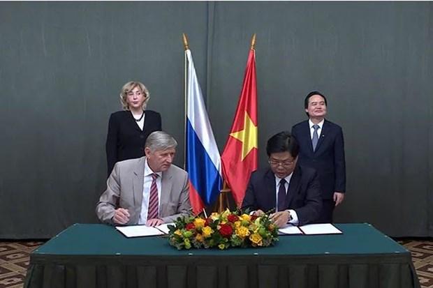 Vietnamese, Russian universities secure 23 deals hinh anh 1