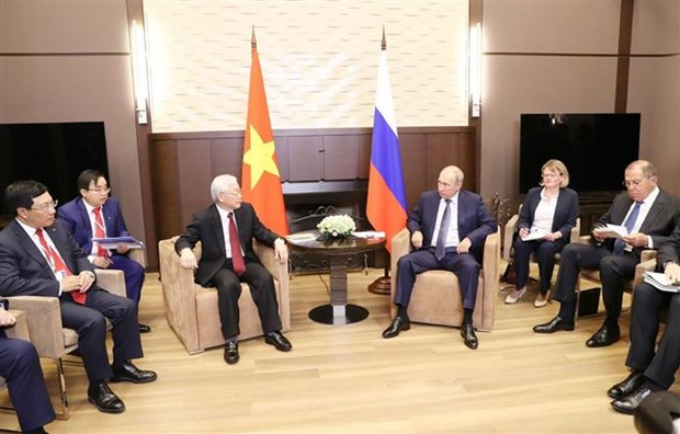 Russian press highlights Party chief's visit to Russia hinh anh 1