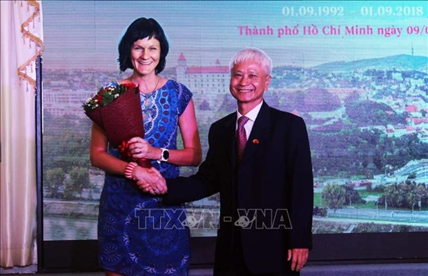 Slovak Constitution Day observed in HCM City hinh anh 1