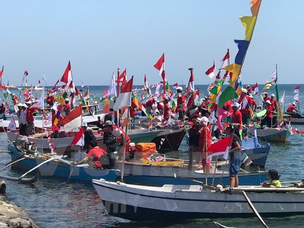 Int'l yacht race helps promote Indonesia's maritime economy hinh anh 1