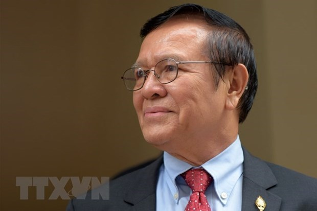 Cambodian opposition leader released on bail hinh anh 1