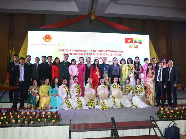 """Colours of Vietnam"" marks National Day in Myanmar hinh anh 1"
