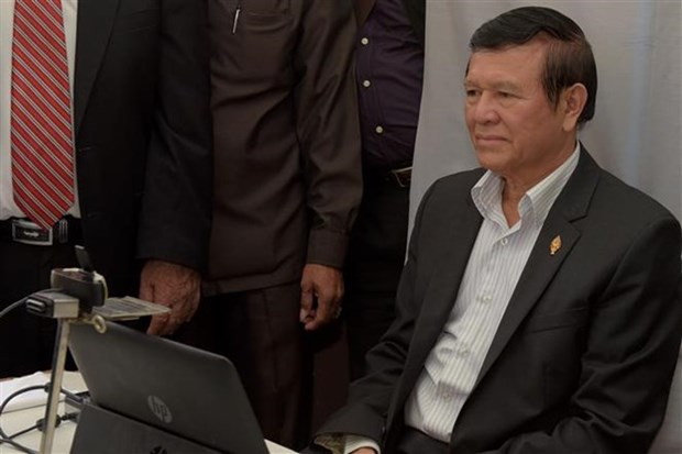 Cambodia frees leader of opposition party Kem Sokha hinh anh 1