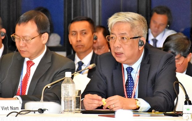 Vietnam attends 10th Japan-ASEAN Defence Vice Ministerial Forum hinh anh 1
