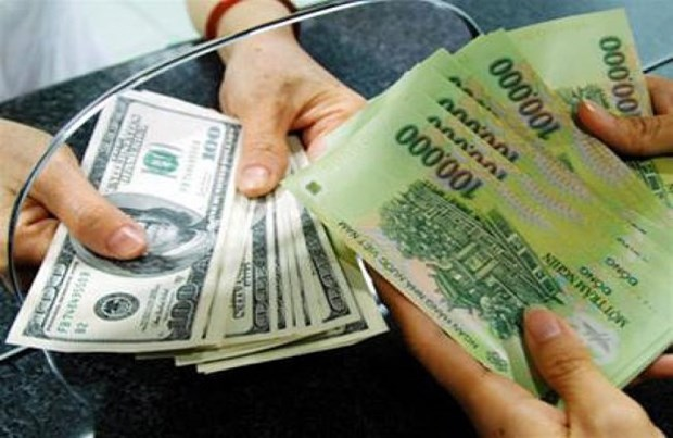 Reference exchange rate up on week's beginning hinh anh 1