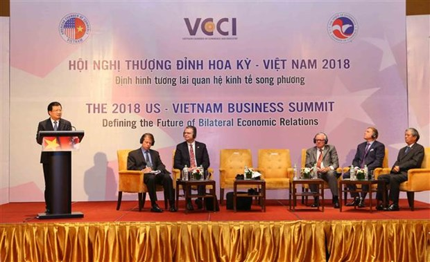 US-Vietnam Business Summit defines future of economic relations hinh anh 1
