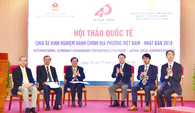 Vietnam, Japan share experience in local administration hinh anh 1