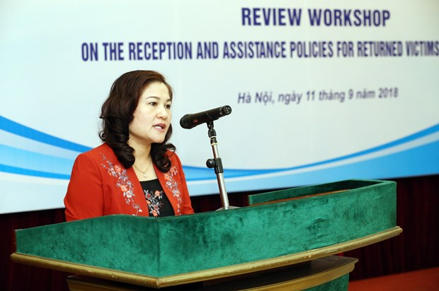 Workshop reviews assistance for returnee victims of trafficking hinh anh 1