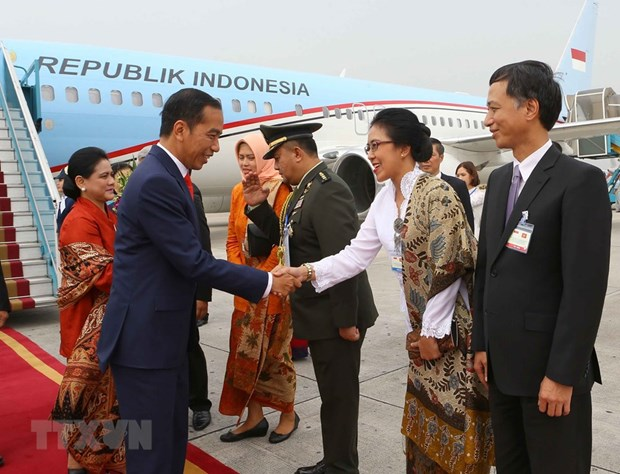 Indonesian President Widodo pays State visit to Vietnam hinh anh 1