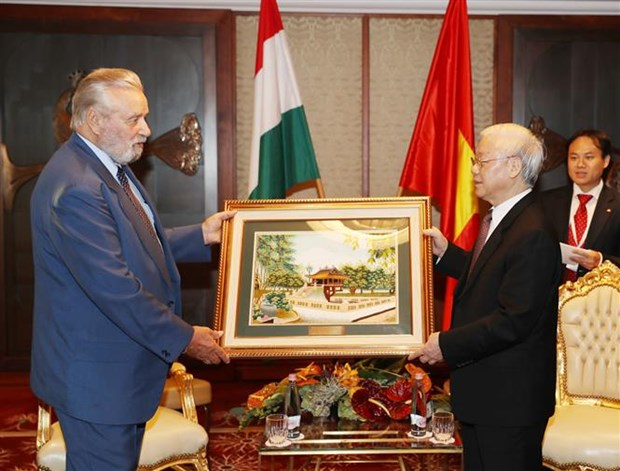 Party chief hails role of Hungary-Vietnam Friendship Association hinh anh 1