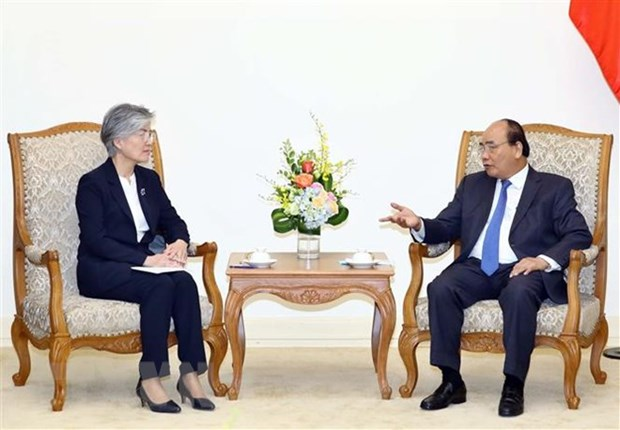PM Phuc: Vietnam - Rok relations developing well in every field hinh anh 1