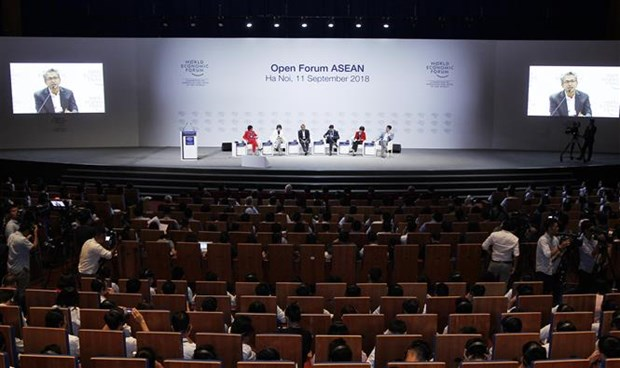 WEF ASEAN 2018 opens in Hanoi hinh anh 1