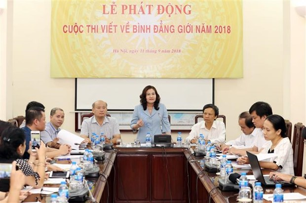 Writing contest on gender equality launched hinh anh 1