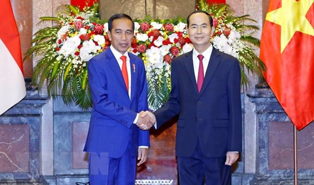 Vietnam, Indonesia issue joint statement hinh anh 1