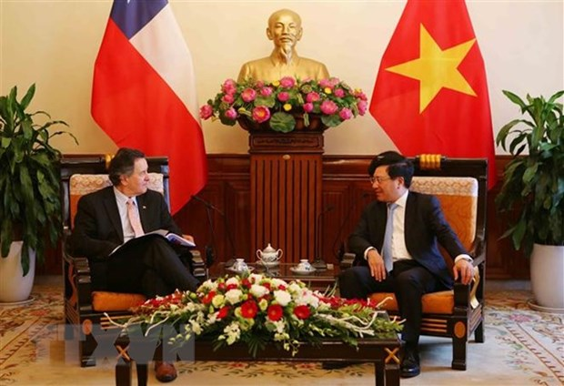 Vietnam sees Chile as leading Latin-American partner: Deputy PM hinh anh 1