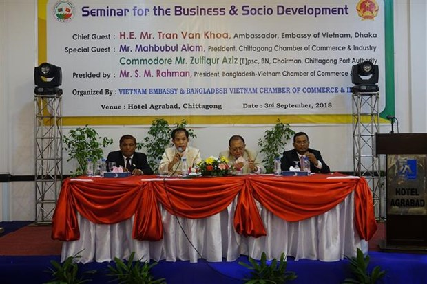Seminar seeks ways to boost Vietnam-Bangladesh trade hinh anh 1