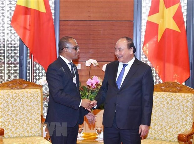 WEF ASEAN 2018: PM receives Timor-Leste Foreign Minister hinh anh 1
