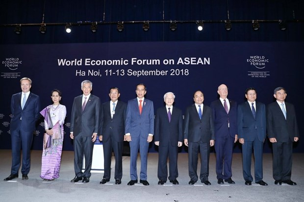 ASEAN makes great technological achievements: WEF President hinh anh 1