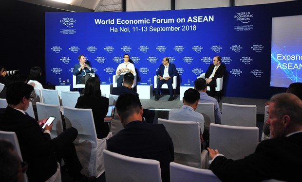 WEF ASEAN 2018: Expatriates a potential source for growth hinh anh 1