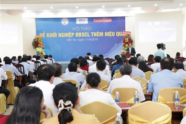 Workshop promotes sustainable startup activities in Mekong Delta hinh anh 1