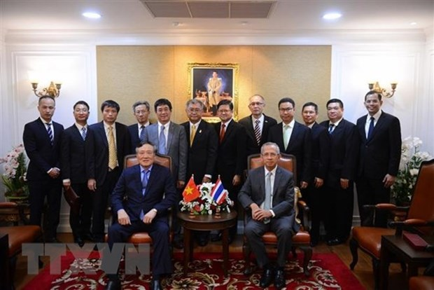 Vietnam, Thailand foster court cooperation hinh anh 1