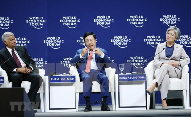 WEF ASEAN: Deputy PM attends Asia's geopolitical outlook panel session hinh anh 1