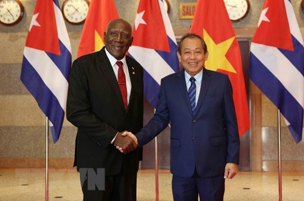 Vietnam treasures all-round cooperation with Cuba hinh anh 1